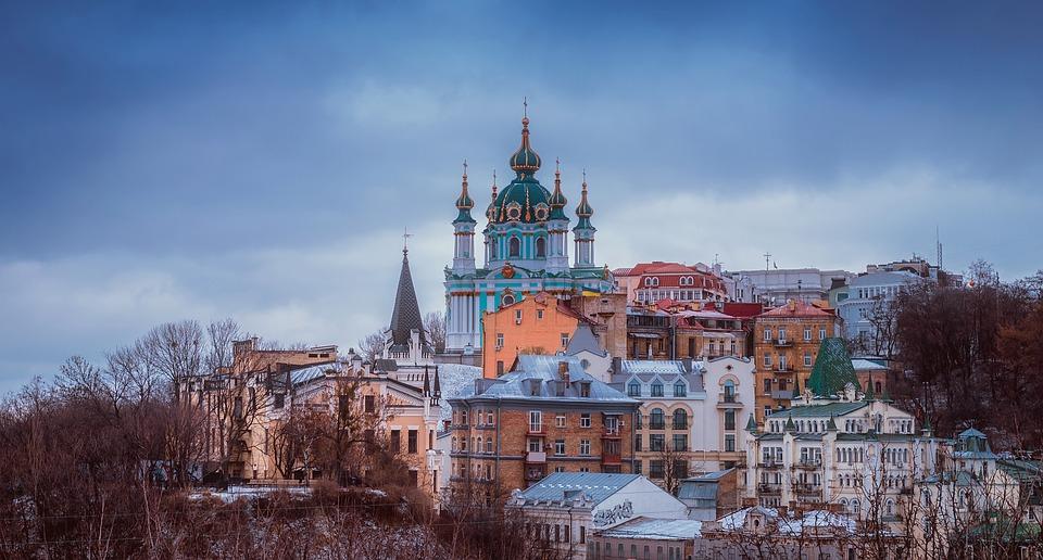 město kyjev